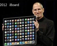 未来のアップル iPhone、iPadの次はiBoardにiMat?