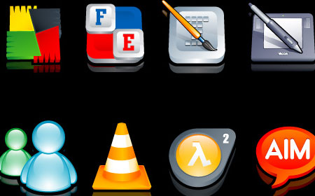 3D Cartoon Icons Pack III - screen shot