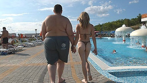 Fat Guy Hot Chick 2
