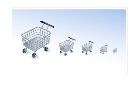 Shopping Cart Icon screen shot