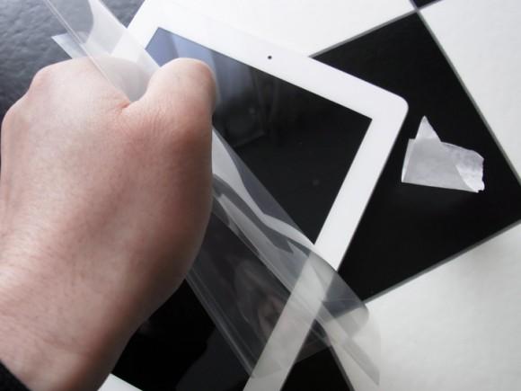 パワーサポートAFPクリスタルフィルムセット for iPad2 PIS-01