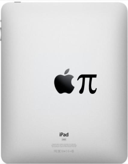 アップルパイ(アップル+π)