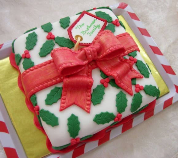 christmas-present-cake