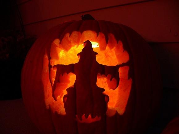 魔女のハロウィンかぼちゃ
