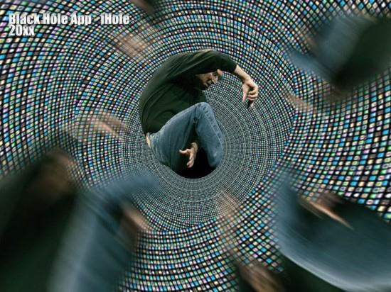 20XX年 iHole iホール(ブラックホールアプリ)