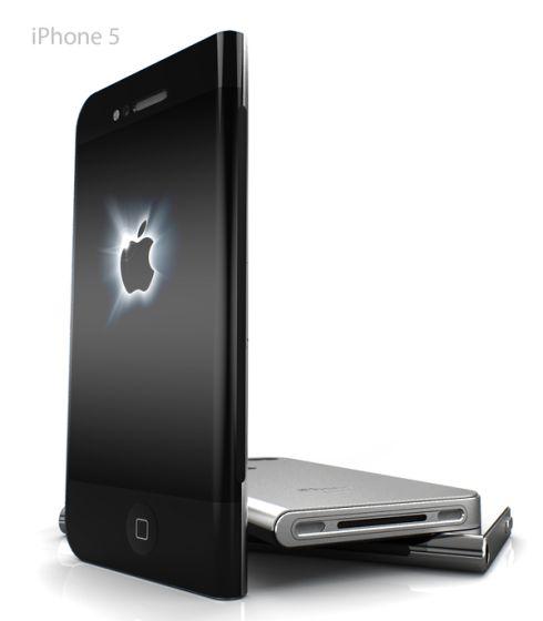 左右非対称iPhoneデザイン