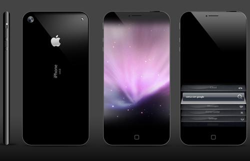 iPhone 5 フチなし全面ディスプレイ