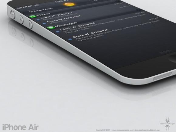 コンセプトデザインiPhone Air