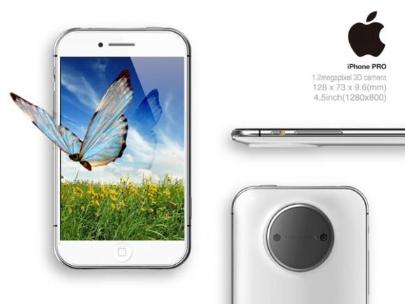 iPhone Pro 3D表示