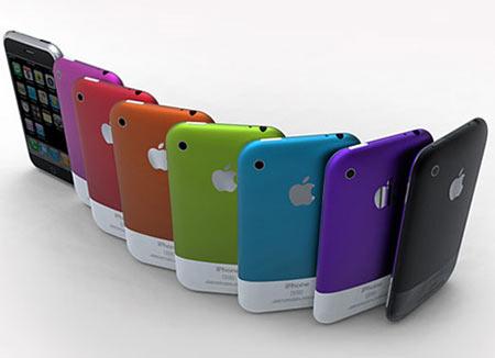 カラフルiPhone