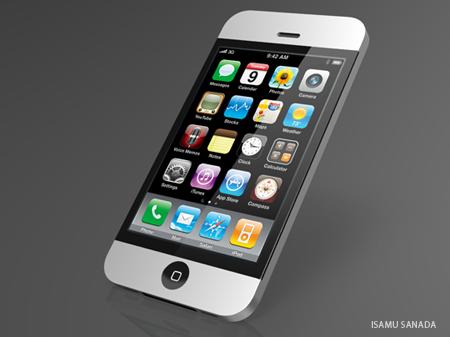 アルミボディのiPhone