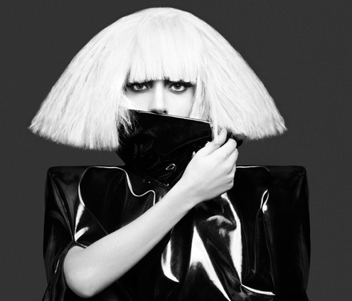 lady,gaga,bob haircut