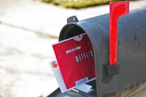 郵便受け(メールボックス)の赤い旗