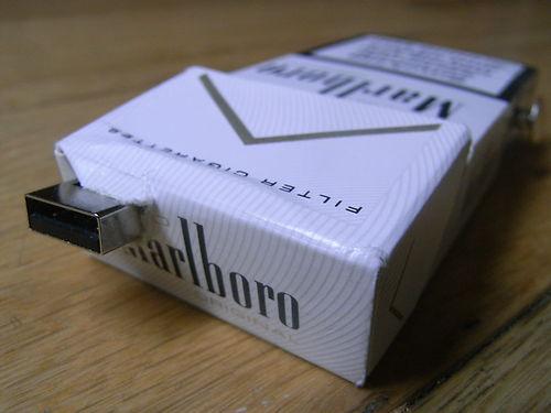 タバコ(マルボロ)のRaspberry Pi ケース