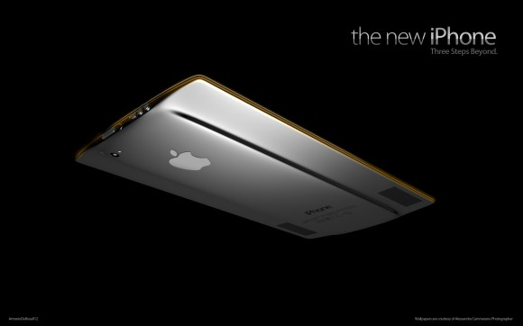 the new iPhone背面