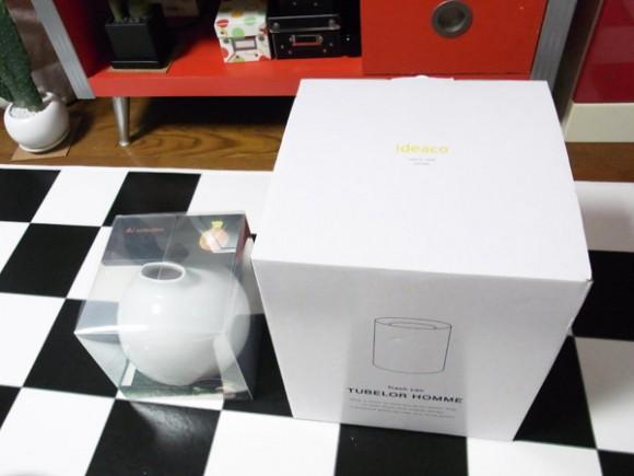 壷型ティッシュケースとお洒落なゴミ箱