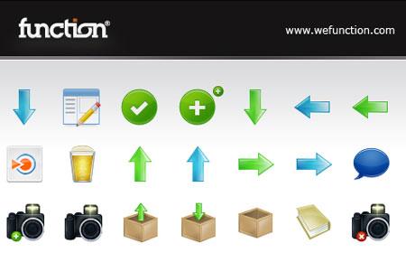 Function Icon Set screen shot
