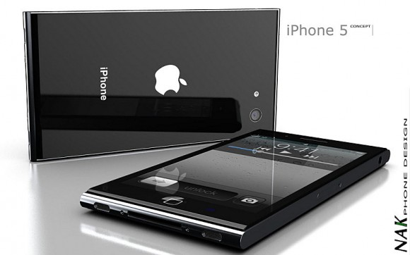 NAK iPhone5コンセプトデザイン
