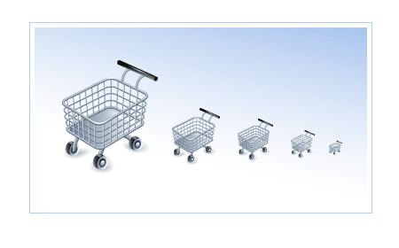 Shopping Cart Icon screen shot