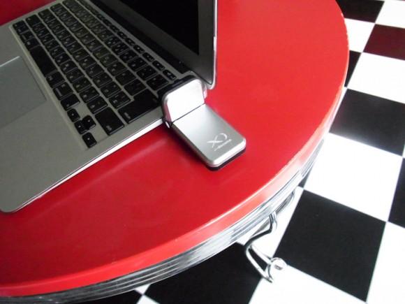 クロッシィとMacbook Airを繋ぐ