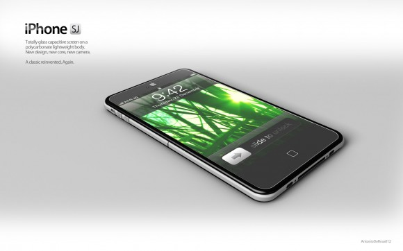 薄型次期iPhoneイメージ