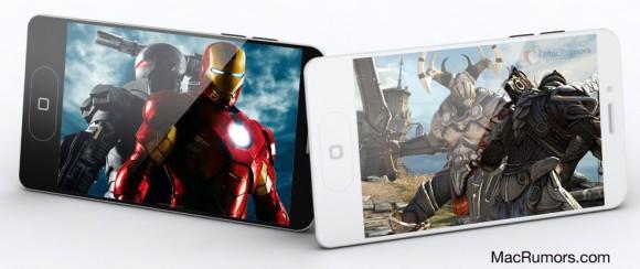iPhone 5 allegedコンセプト