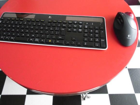 クラムシェルで使うキーボードとマウス