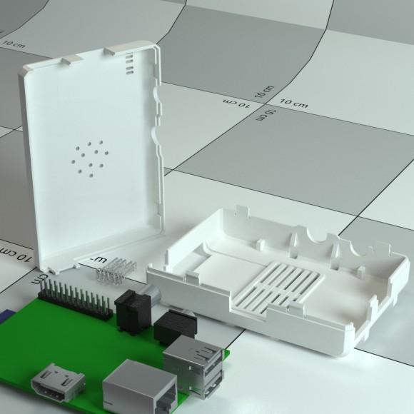 Raspberry Piのプラスチックケース