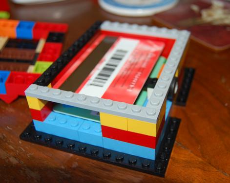 超小型パソコンRaspberry Piのレゴケース