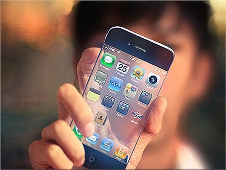 透明で柔軟性のあるiPhone